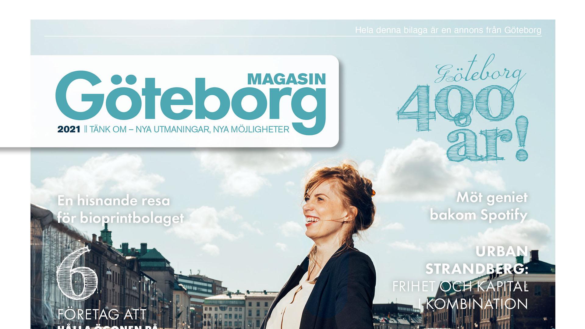 Magasin Göteborg - framsidan