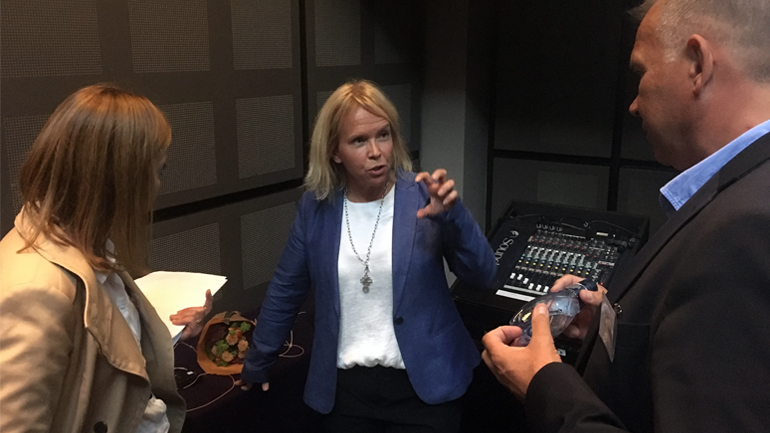 Elisabet Vinberg Hearn tipsar företagsledare på tillväxtprogrammet Expedition Framåt, Business Region Göteborg BRG