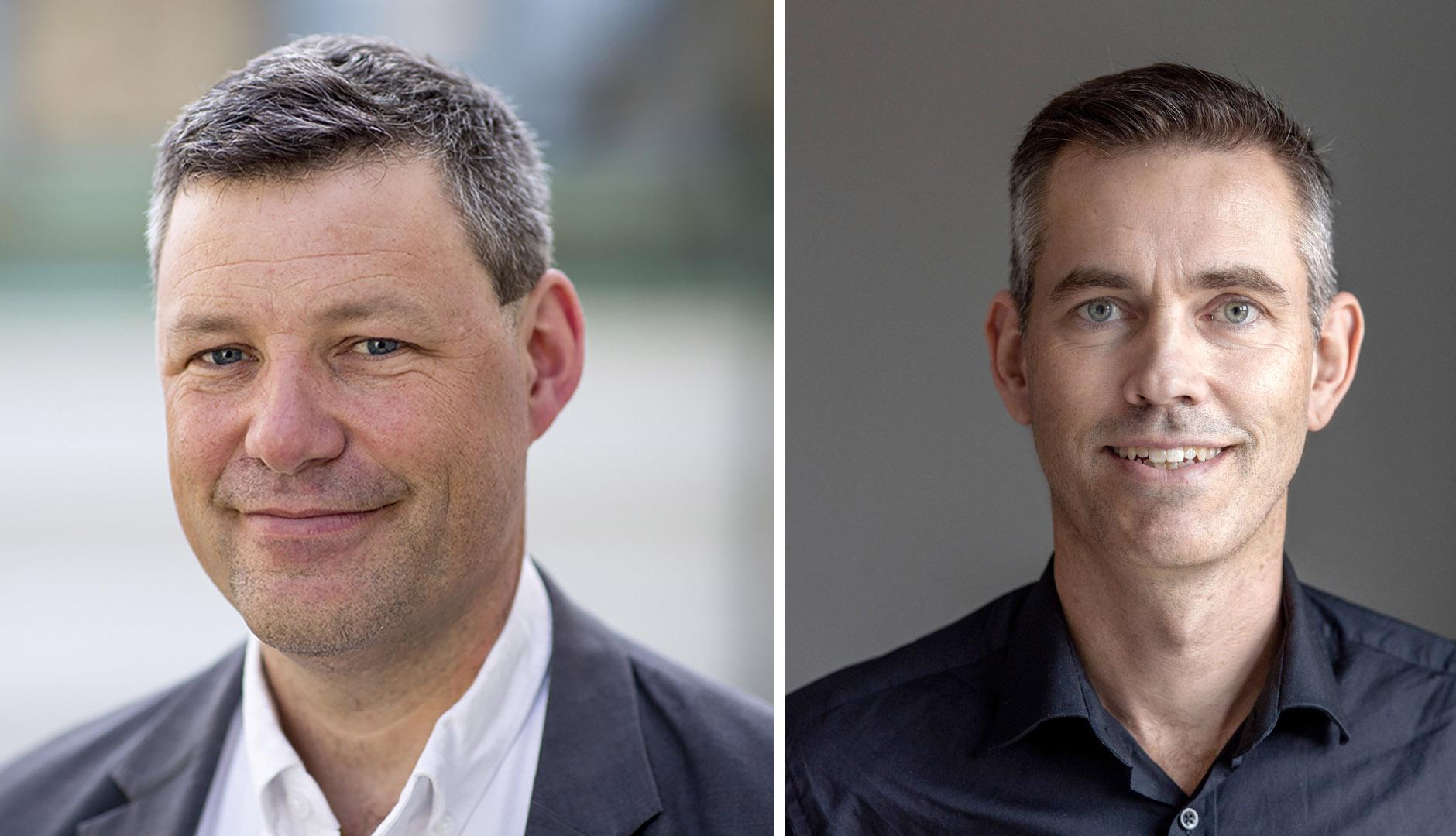 Erik Behm och Johan Hogsved