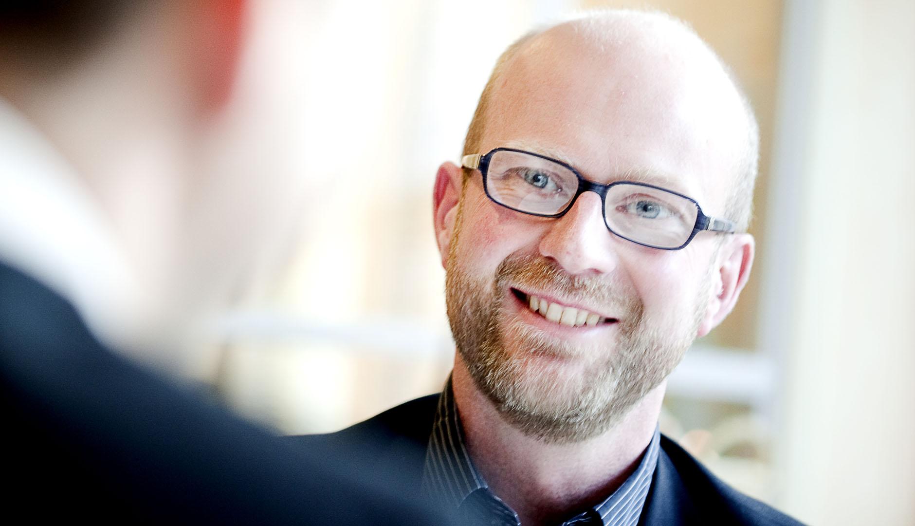 Magnus Alm, vd på Idnet som kom med på Gasell-listan 2019