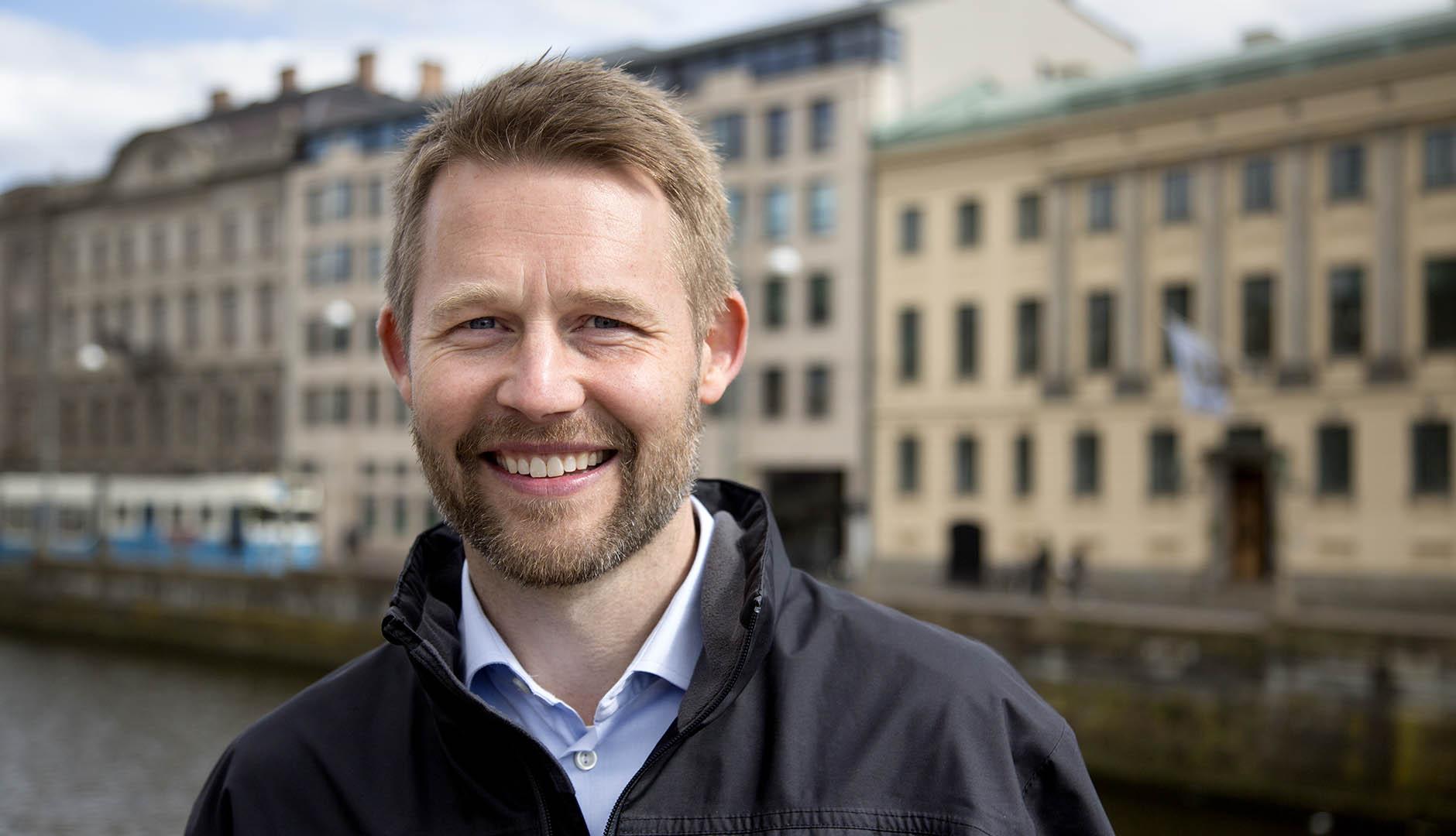 Per Österström, gruppchef för transporter och fordon på Business Region Göteborg