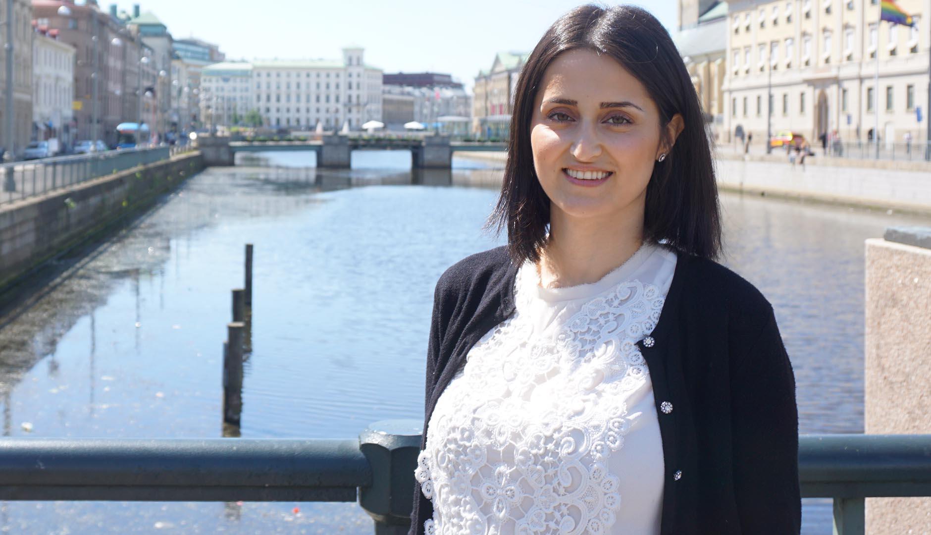 Sara Serray, grundare och vd för Wellibites AB