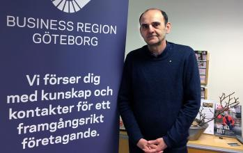 Dragan Sako finns på Business Center i Angered
