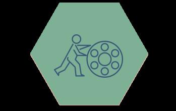 Ikon produktion hexagon